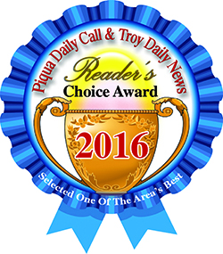 Piqua Daily Call and Troy Daily News Readers Choice Award 2016