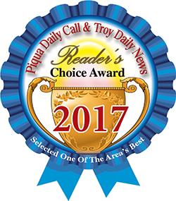 Piqua Daily Call and Troy Daily News Readers Choice Award 2017